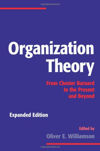 chester barnard the acceptance theory The different approaches and systems of management students chester barnard expressed his views in his book the functions of the executive another significant contribution of barnard was the acceptance theory of.