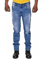 Karya Men Blue Slim Fit High Fashion Jeans