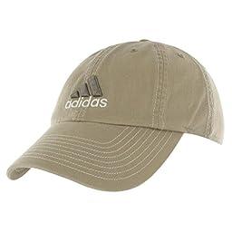 adidas Men's Weekend Warrior Cap (WASHED KHAKI/EXPLORER/DARK IRON, One Size Fits All)