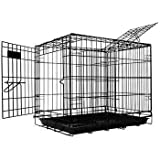 Pet Tek DPK86002 Dream Crate Professional Series 200 Dog Crate, 24 by 18 by 20-Inch, Black