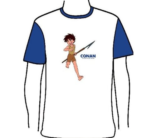 "Conan T-Shirt ""Otaku"" Taglia M"