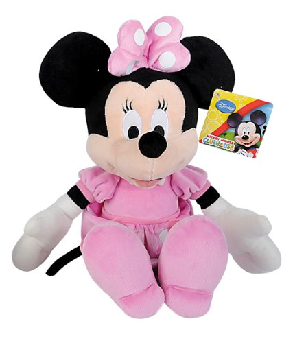 Simba 6315872639 Disney Club House Basic - Peluche di Minnie, 35 cm
