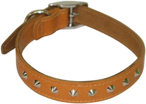 bbd-21-24-inch-studded-leather-collar-tan