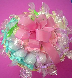 25 Bath Fizz Bridal Shower Favors Basket