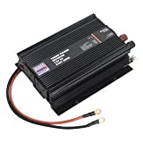PI1000 1000W Power Inverter 12V DC - 230V 50Hz