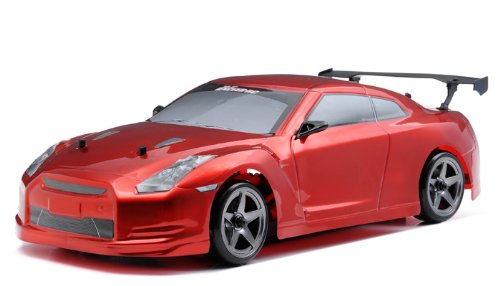 Exceed RC 2.4Ghz MadSpeed Drift King 1/10 Electric Ready to Run Drift Car (SK-Red)