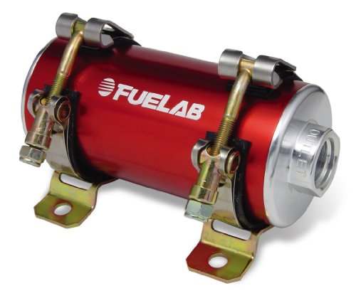 Fuelab 40401-2 Reduced Size Red In-Line Fuel Pump