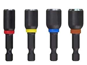 Milwaukee 49-66-4562 Shockwave 1-7/8-Inch Magnetic Nutdriver Set