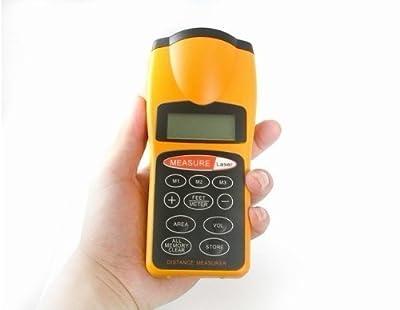 60ft LCD Ultrasonic Distance Laser Pointer Measurer Ultrasonic Diastimeter CP3007