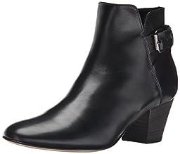 Aquatalia Women\'s Fae Boot, Black Calf, 5.5 M US