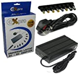 Ex-Pro 90w Laptop Notebook power supply AC adapter, Mains Cable, Selectable Voltage. Compatible with Asus Eee PC 1000 12V 3A