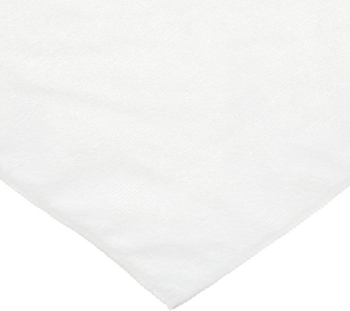 "Carlisle 3633402 White 16""X16"" Terry Microfiber Cleaning Cloth (Case Of 12) front-360473"