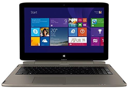 Medion S6214T 4-in-1 MD99317 39,6 cm (15,6 Zoll) Notebook (Intel Pentium N3540, 2,1GHz, 4GB RAM, 500GB HDD, Win 8.1 Touchscreen) titan
