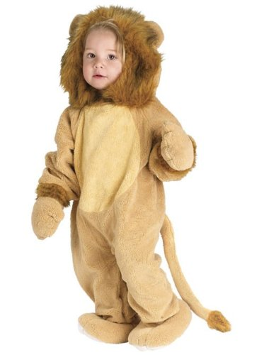 Cuddly Lion Infant Costume, Small (6-12) Month front-519483