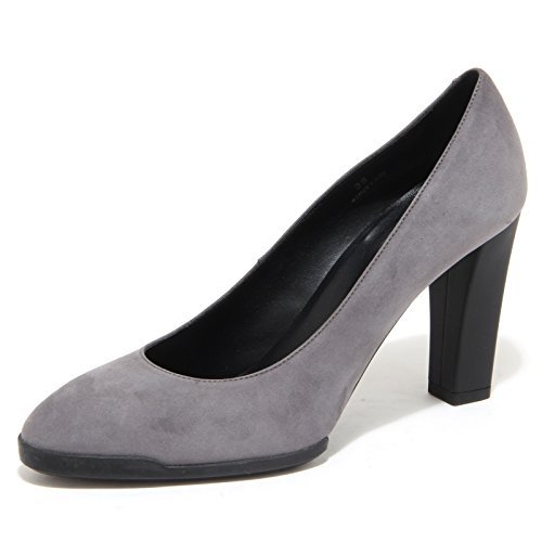 6321N decollete TOD'S scarpe donna shoes women grigio [37.5]