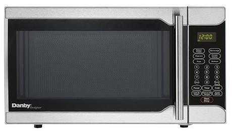danby-designer-07-cubic-foot-microwave-stainless-steel