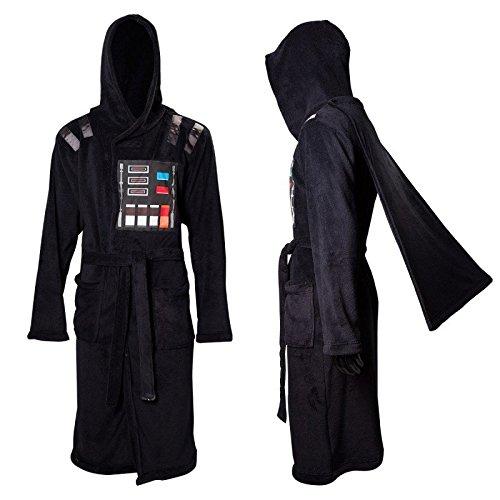 Licenza ufficiale Star Wars Darth Vader adulto nero vestaglia con Cape