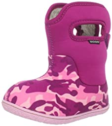 Bogs Toddler Classic Camo Winter Snow Boot,Pink Camo,5 M US Toddler