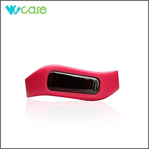 WoCase OneBand Fitbit One Accessory Wristband Bracelet Collection (2015 Lastest Version, Bundled or Single Band) and Rainbow Pack Fasteners(SOLD SEPARATELY)...