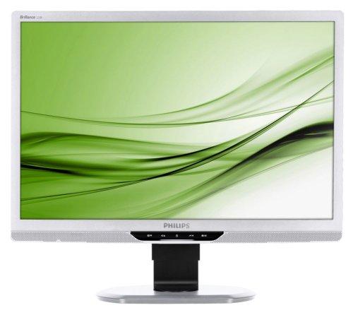 Phillips 220B2CS/00 55,9 cm (22 Zoll) widescreen TFT Monitor (DVI, VGA, 5ms Reaktionszeit) silber