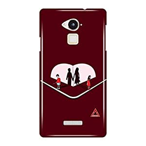 a AND b Designer Printed Mobile Back Cover / Back Case For Coolpad Note 3 (COOL_PAD_N_3D_3414)
