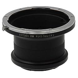 Fotodiox Pro Lens Mount Adapter, Mamiya 645 Mount Lens - Sony NEX Camera Camcorder Adapter, fits Sony NEX-3, NEX-5, NEX-5N, NEX-7, NEX-7N, NEX-C3, NEX-F3, Sony Camcorder NEX-VG10, VG20, FS-100, FS-700