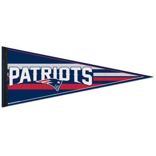 New England Patriots - Logo Stripe Pennant