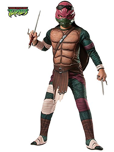 Rubies Teenage Mutant Ninja Turtles Deluxe Muscle-Chest Raphael Costume