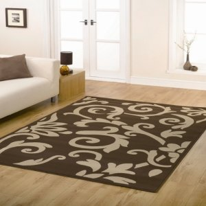 New York Day Yellow Cab Faux Fur Kids Washable Rug Mat 70 x 110cm Non Slip