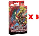 YuGiOh 3x Onslaught of the Fire Kings Structure Deck [Toy]