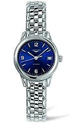 Longines Les Grande Classiques Flagship Automatic Transparent Case Back Women's Watch