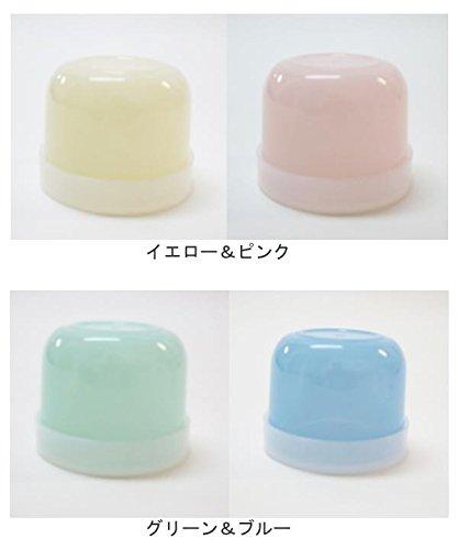 ペットボトル用キャップコップ キャップラス ミルキー 2色組×3セット イエロー&ピンク・WE-10240