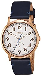 Fossil Everyday M Analog White Dial Womens Watch - ES4062I