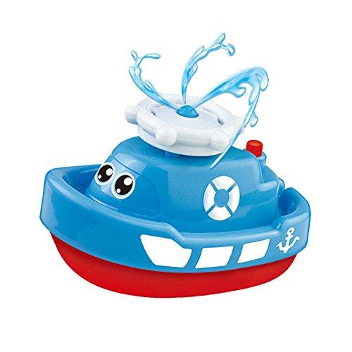 Baby Bagno Barca Giocattolo con Acqua Rotante Gioco per bambini