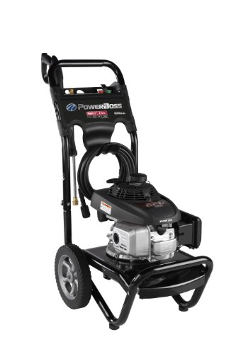 Briggs & Stratton 20574 Power Boss 2.3-Gpm 2800-Psi Gas Pressure Washer With Honda Gcv160 Engine And Quick Connect Spray Tip