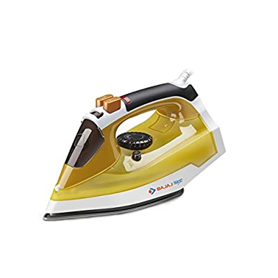 Bajaj Majesty MX25 1250-Watt Steam Iron (Yellow)