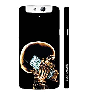Oppo N1 EVERY X-RAY VIEW designer mobile hard shell case by Enthopia