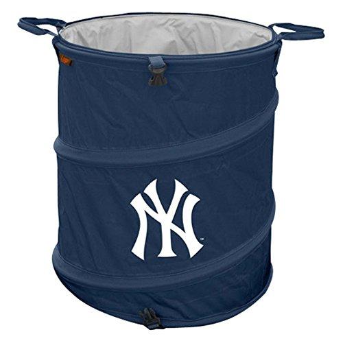 Yankees wastebasket new york yankees wastebasket yankees wastebaskets - Collapsible waste basket ...