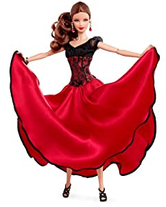Mattel W3319 - Barbie Collector Dancing with the Stars Paso Doble Barbie, Sammlerpuppe