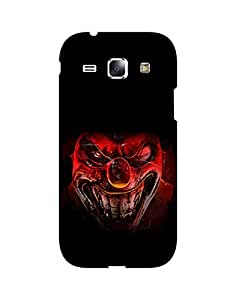 AANADI - Hard Back Case Cover for Samsung Galaxy Core I8262 - Superior Matte Finish - HD Printed Cases and Covers