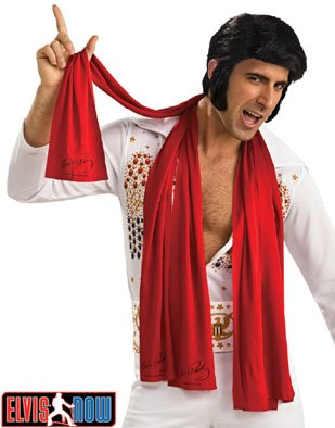 3 New Official Elvis Presley Costume Accessory Scarves