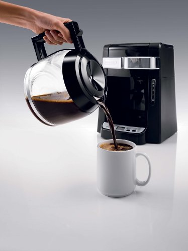Coffee Maker Carafe That Doesnot Drip : DeLonghi DCF2212T 12-Cup Glass Carafe Drip Coffee Maker, Black Food Industry Mag