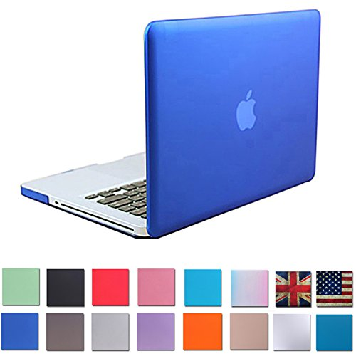 "HDE Matte Hard Shell Clip Snap-on Case for MacBook Pro 13"" (Non-Retina) - Fits Model A1278 (Blue)"