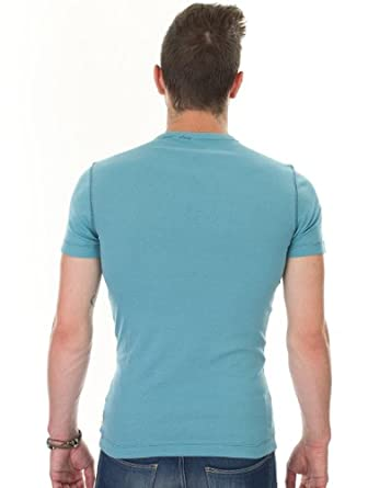 G-star - T-Shirt - Homme - Turquoise - Turquoise - FR: X-Small (Taille fabricant: X-Small)