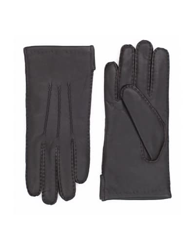 Portolano Men's Cashmere-Lined Leather Gloves