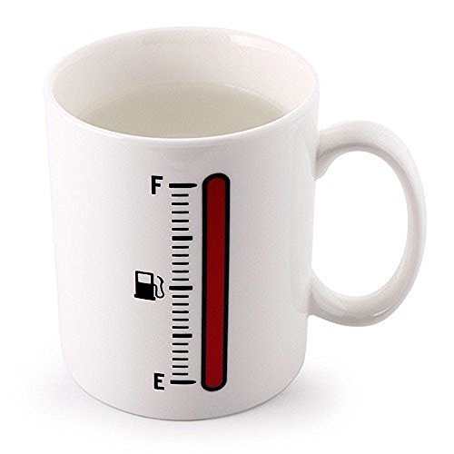 Modern Living Thermometer Coffee Mug 12Oz