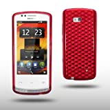 41Ct8jl9%2BRL. SL160  NOKIA 700 TPU GEL CASE BY CELLAPOD CASES RED