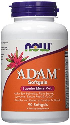 NOW Foods Adam Superior Men's Multi, 90 Softgels