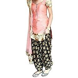 Shree Fashion Women's Silk Unstitched Dress Materials [D64]