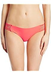 Luli Fama Women's Verano De Rumba Bootylicious Minimal Coverage Swim Bottom